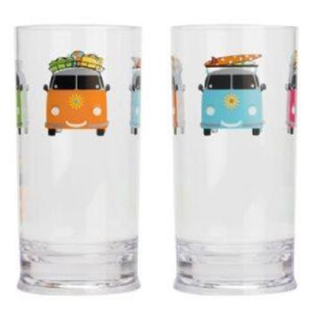Camper Smiles Tall Tumbler (x2)