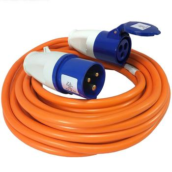 10m Caravan Electric Hook Up Mains Lead 230V