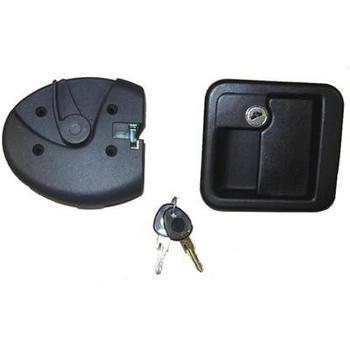 Door lock FAP MK complete lock assembly black type 1