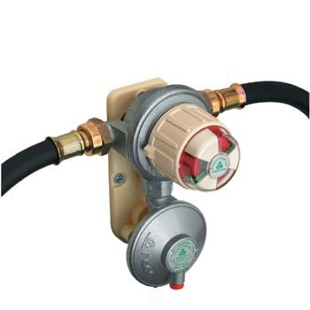 Gaslow Automatic changeover valve with regulator. Output pressure 37 mbar