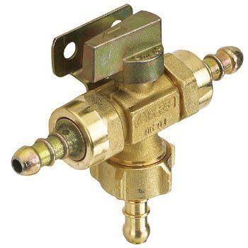 Gaslow Manual low pressure changeover valve
