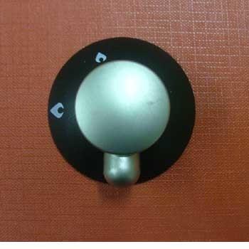 Knob for Mk 3 Spinflo Hob - Satin