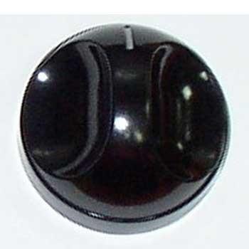 Spinflo Plain Knob Style 2 - Black