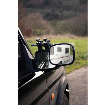 Maypole Extending Caravan Towing Mirrors (Convex) (Pair)