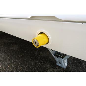 Milenco Caravan Leg Nut lock