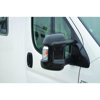 Milenco Motorhome Mirror Protectors (Wide Arm) - Black