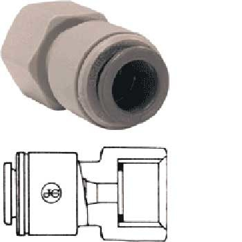 "Push Fit Female Adaptor - 12mm - 1/2"" BSP female"