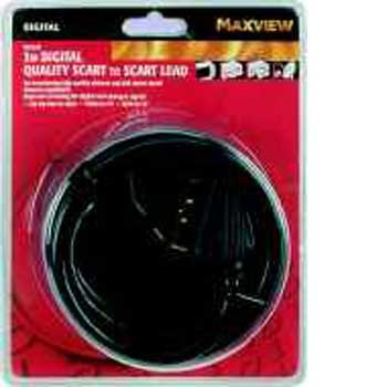 Maxview 3M Digital Quality Scart to Scart Lead