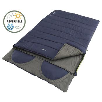 Outwell Contour Lux Double Imperial Blue Sleeping Bag