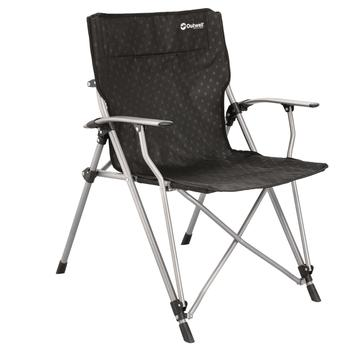 Outwell Goya Folding Camping Arm Chair (Black)