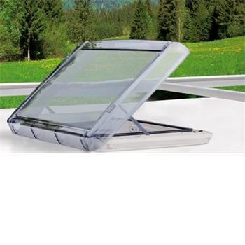 Remis Vario 2 (400 x 400) rooflight with internal lighting