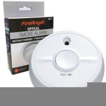 Smoke Alarm - Fire angel optical alarm
