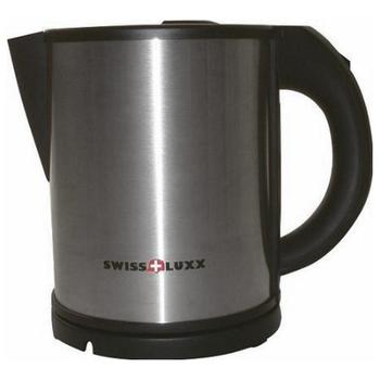 Swiss Luxx Cordless 650 watt kettle - stainless steel