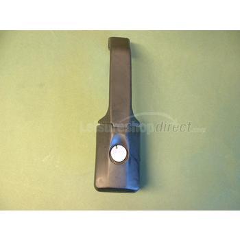Vertical door handle for motorhomes