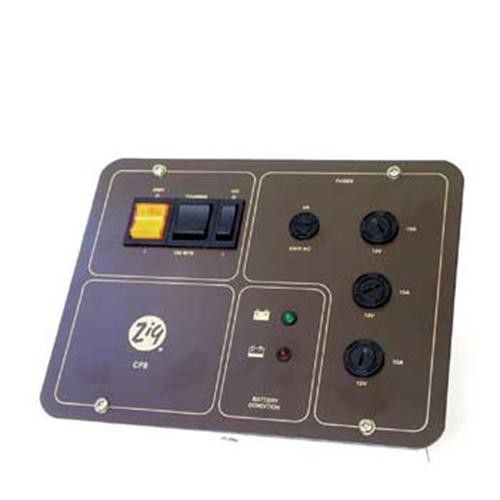 Zig CF8 Control Panel Black face image 1