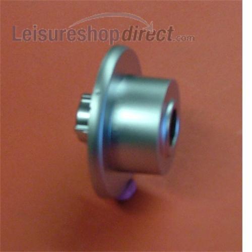 Door Handle T-Lock Rosette Silver image 1