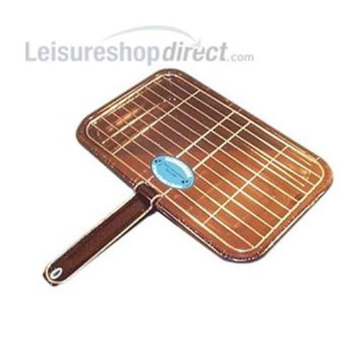 Grill Pan and Trivet - black image 1