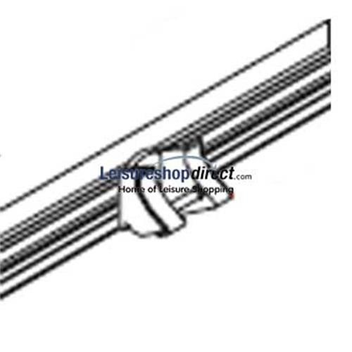 Fiamma Rafter Fixing Kit For Case Box Grey 7001 image 1