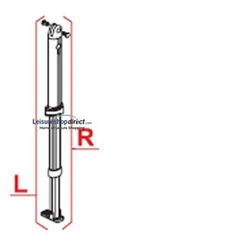 Fiamma Caravanstore Right Hand Leg 3.10 - 4.40M 05 image 1