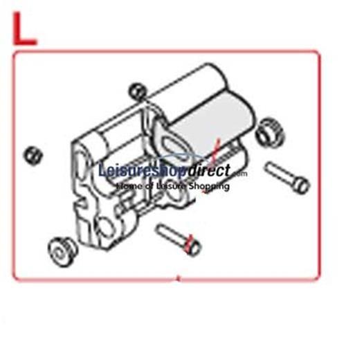 Inner Bracket Left for Fiamma F45TiL Awnings image 1
