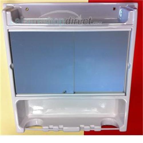 Caravan Vanity Cabinet White image 1