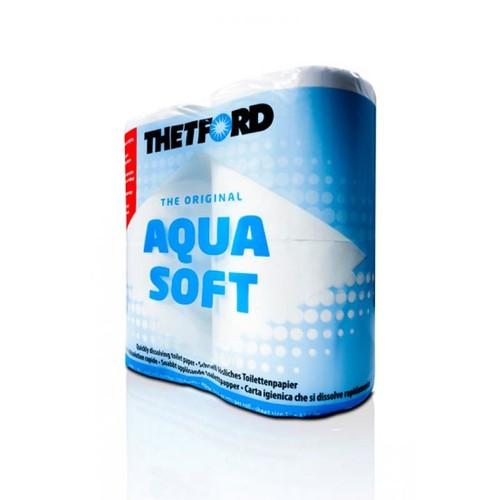 Thetford Aqua Soft Toilet Rolls (4 rolls) image 1