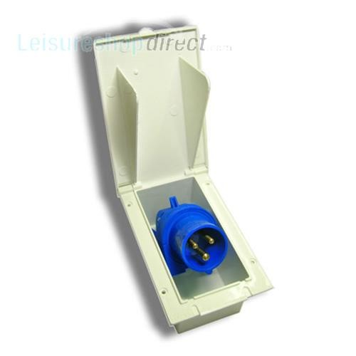 Mains Supply Inlet - White image 1