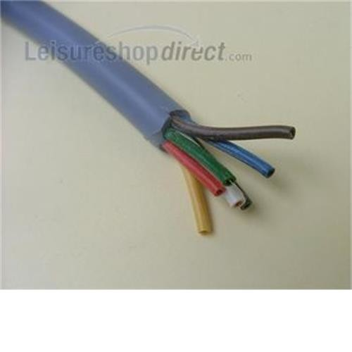 7 core cable grey for towing electrics image 1
