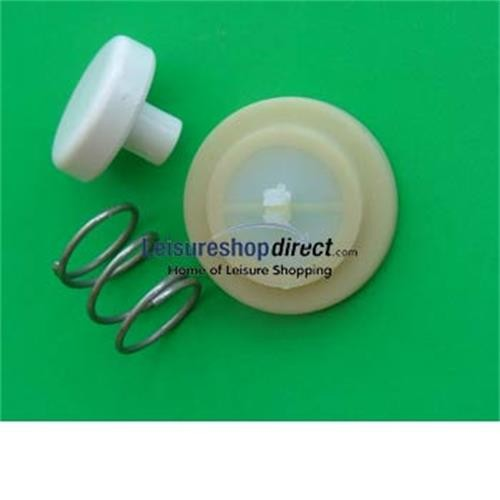 Thetford Porta Potti Vent Button Assembly - White/Eidelweiss image 1