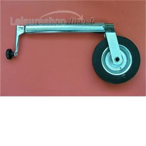 Caravan Jockey wheel Medium Duty 48mm shaft image 1