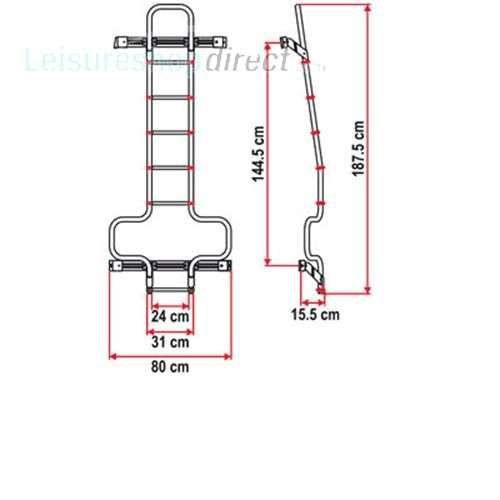 Fiamma Delux 6 DJ Ladder image 4