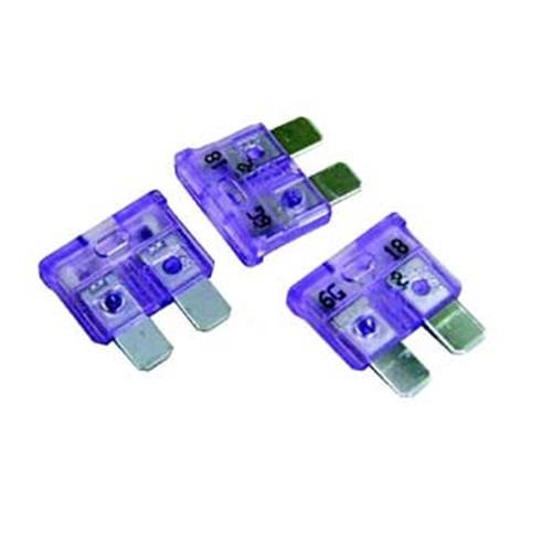 3 Amp Lilac Blade Fuse image 1