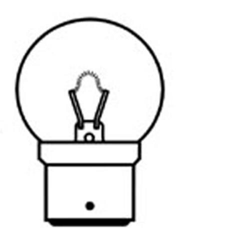 Conversion Bulb 24W 12V 22mm D C image 1