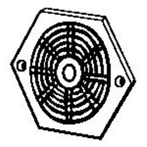 Hexagonal Vent - Plastic image 1