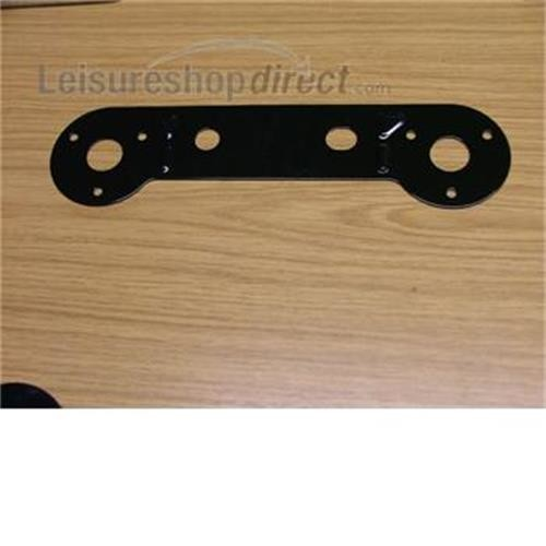 Socket Plate Double Straight image 1