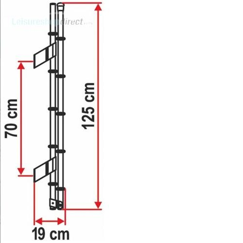 Fiamma Deluxe 5D Exterior Ladder image 2