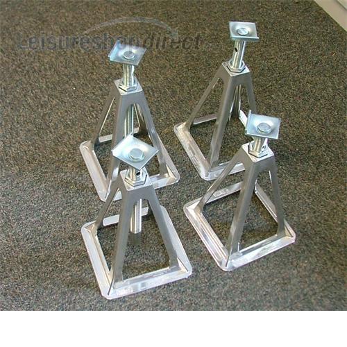 Fiamma Aluminium Axle Stand Set 4 image 1