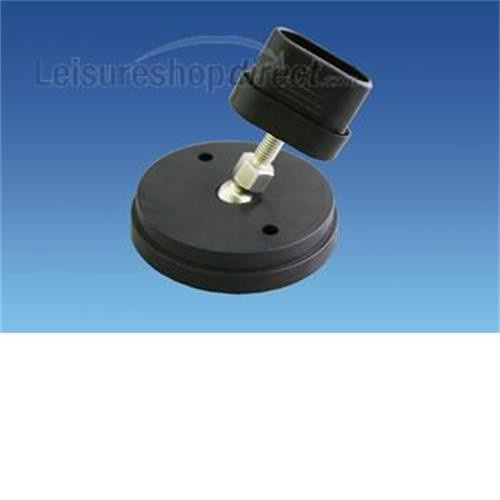 Adjustable Step Foot for Aluminium Double Step image 1
