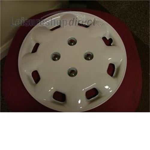 13in wheel trim white image 1