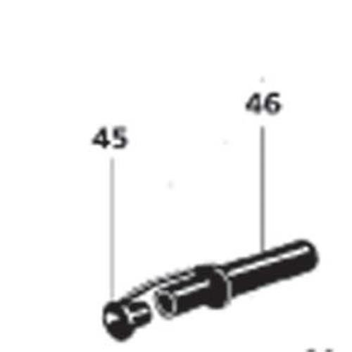 Draintube & Plug for the Thetford C4 Cassette