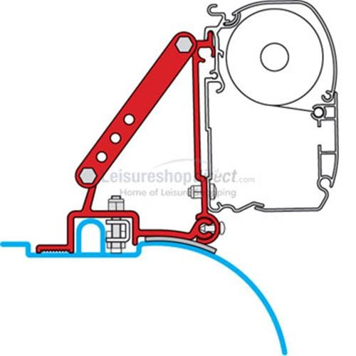 Fiamma Installation Kit Ducato - Jumper - Boxer