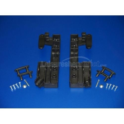 Lift handles (pair) for Dometic Heki rooflight image 1