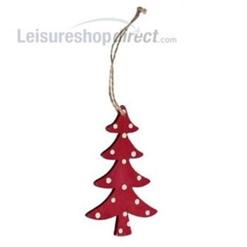 Christmas Retrospot Tree - Wood image 1