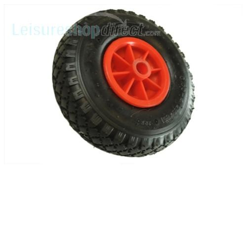 Maypole 260mm Plastic Wheel with Pneumatic Tyre for Jockey Wheels image 1
