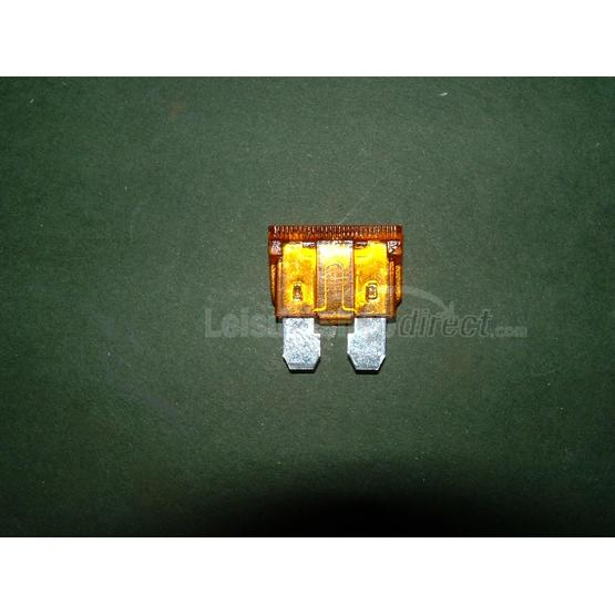5 amp blade fuse, light brown image 1