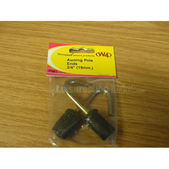 Awning Pole Ends 3/4 (19mm) image 1