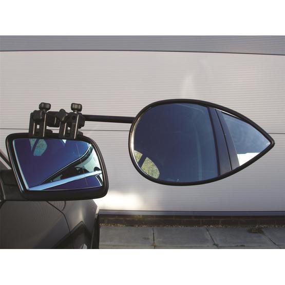 Milenco Aero 2 Convex Twinpack Caravan Towing Mirrors image 1
