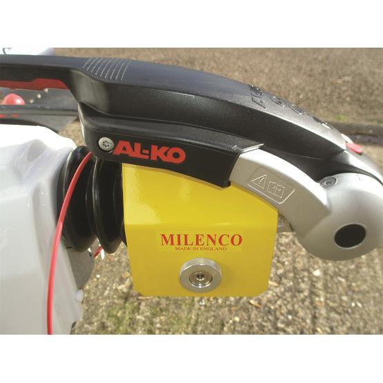 Milenco Heavy Duty 3004 Caravan Hitch Lock image 1