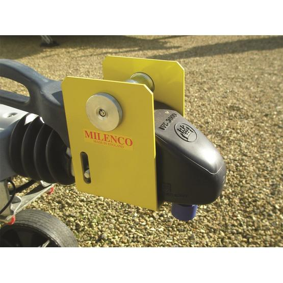 Milenco Heavy Duty WS3000 Caravan Hitch Lock image 1