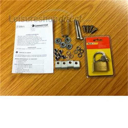 Fixation Kit For Omni Bike Plus E2 Bikes image 1